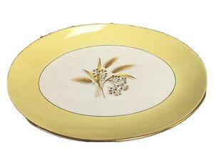 Vtg-Century-Service-Autumn-Gold-Oval-Platter-11-5-034-China-Dinnerware-Wheat