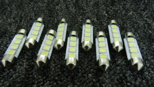 RENAULT 4SMD 41 mm 42 mm C10W 264 Canbus DEL Voiture Intérieur Ampoule Feston Lumière Blanche