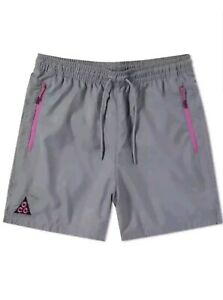 Details zu Nike NikeLab ACG Woven Shorts Grey Purple Black Size XL (AO8272 065) Men's