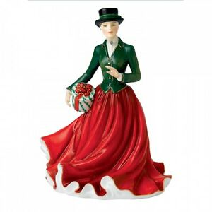 Royal-Doulton-2015-Figure-of-the-Year-Christmas-Morning-Figurine-HN5731-New