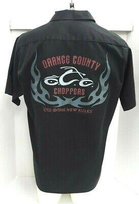 OCC Orange County Choppers Workshirt Patch Black