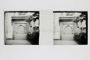Maghreb Marruecos Argelia Túnez Placa De Cristal Estéreo Positive Aprox 1920
