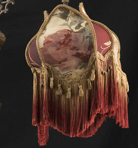 Bridge Victorian Lamp Shade Croscill Rose Fabric Silk Ebay