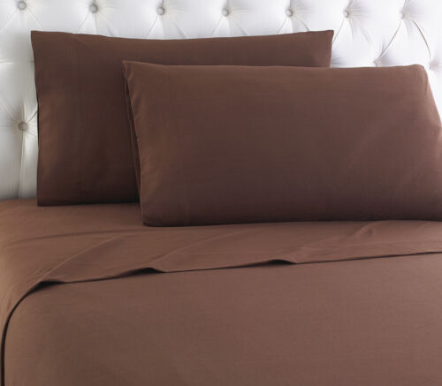 Shavel Micro Flannel Sheet SET Chocolate