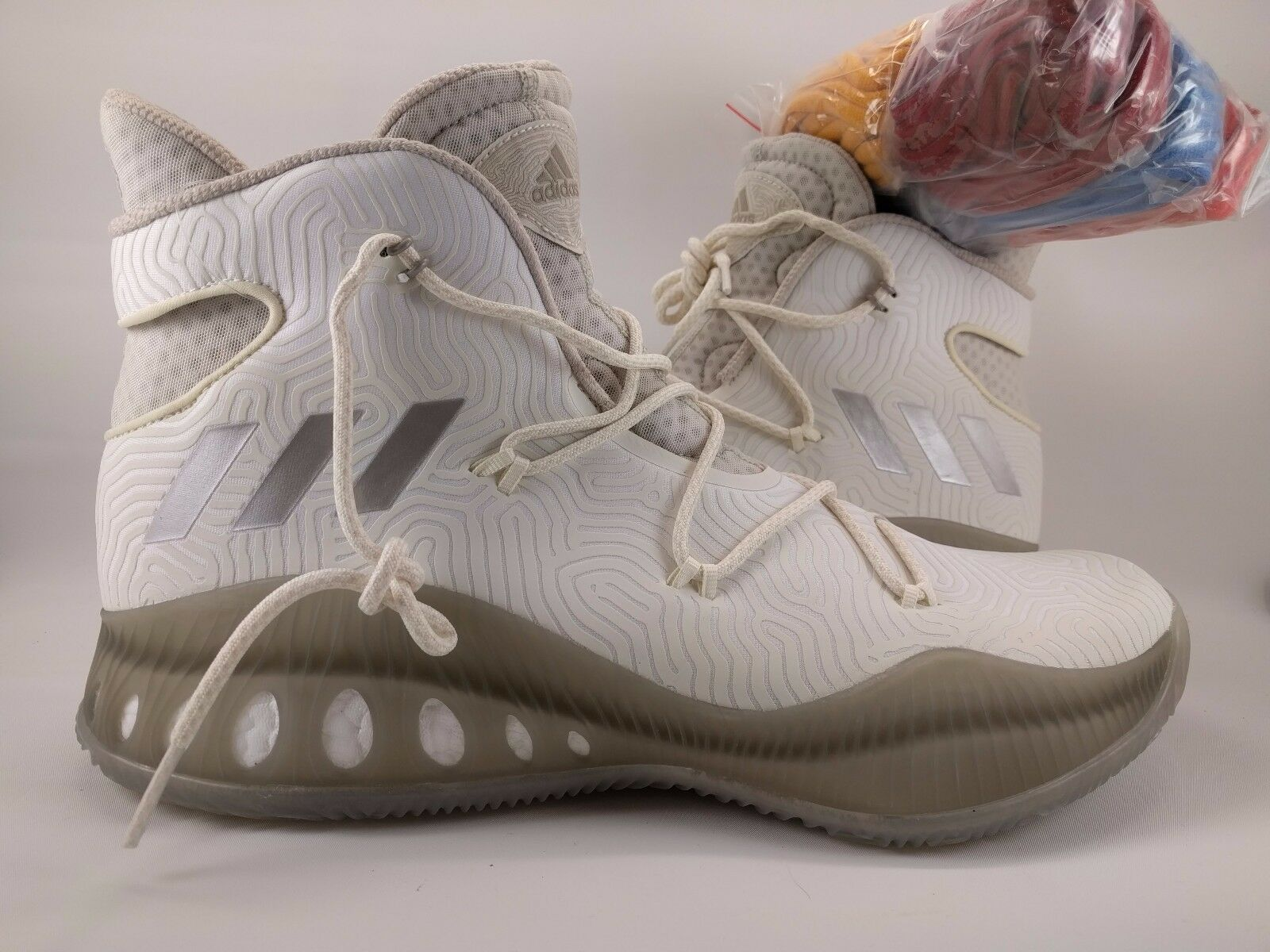 Adidas Crazy Explosive Basketball shoes TB White 14.5 [BY3591] Wiggins Boost pk
