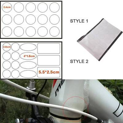 15pcs//Sheet Transparent Bike Frame Protector Decals Bicycle Anti-Scratch Sticker