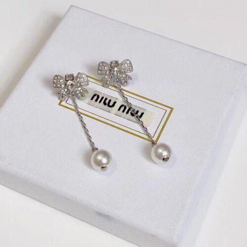 Miumiu Bow Earrings
