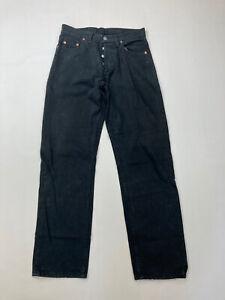 LEVI-039-S-517-Straight-Jeans-W31-L32-noir-tres-bon-etat-Homme