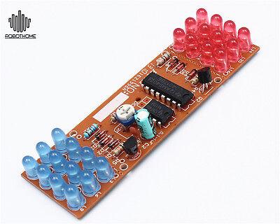 Red Blue Detonation Flashing Light Dual-Color DIY Kit Electronic Suit