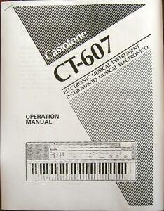 Casio ct-615 manual pdf.