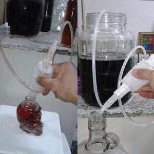 Details about Hot Simple Syphon Pack Home Brew Beer Wine Siphon Tube Tap &  Sediment Trap FI
