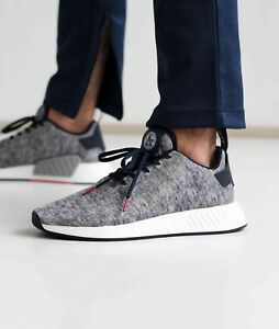 55dc2468ce6e4 Adidas x United Arrows and Sons NMD R2 size 13. UAS . Grey Navy ...