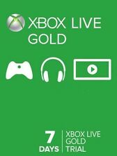 7 Day (1 Week) Xbox Live Trial Code