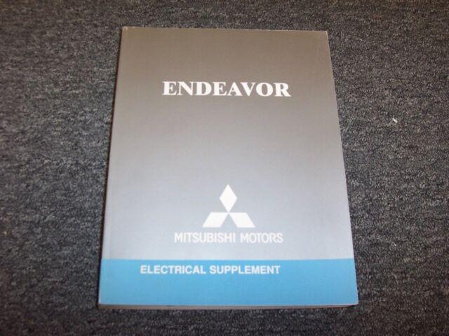 2004 Mitsubishi Endeavor Suv Electrical Wiring Diagram