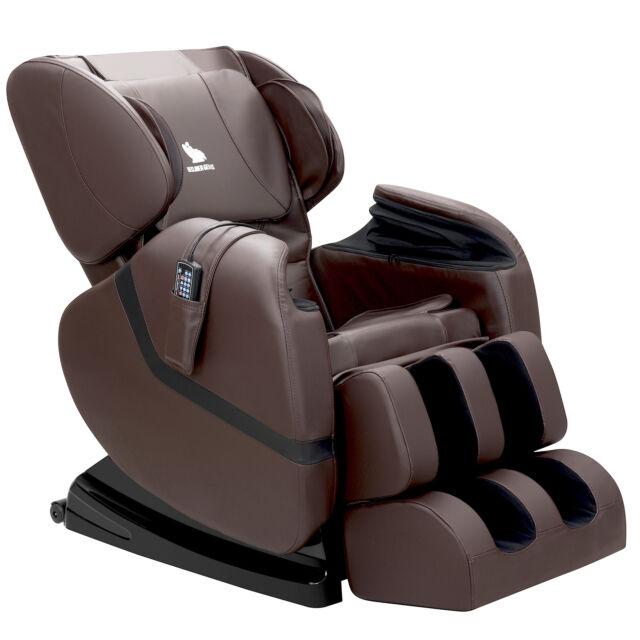 Kenwell Deluxe Full Body Shiatsu Massage Chair Recliner ZERO GRAVITY Foot  Rest