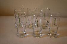 Set of 6 Heineken Premium Light Lager Beer Glasses 0.25L