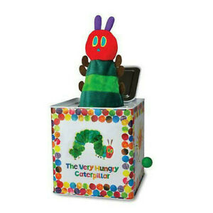 NEW Officially Licensed Very Hungry Entertaining Caterpillar Jack In A Box