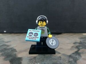 100/% Complete Lego DJ Collectible Minifig Figure Series 8