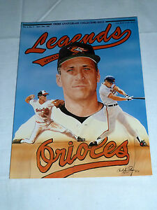 Details About 1991 Cal Ripken Jr Legends Sports Memorabilia Price Guide 3rd Anniversary Issue