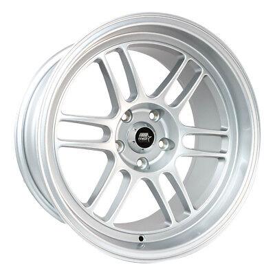 One 18x11 MST Suzuka 5x114.3 ET10 Alpine White Wheel