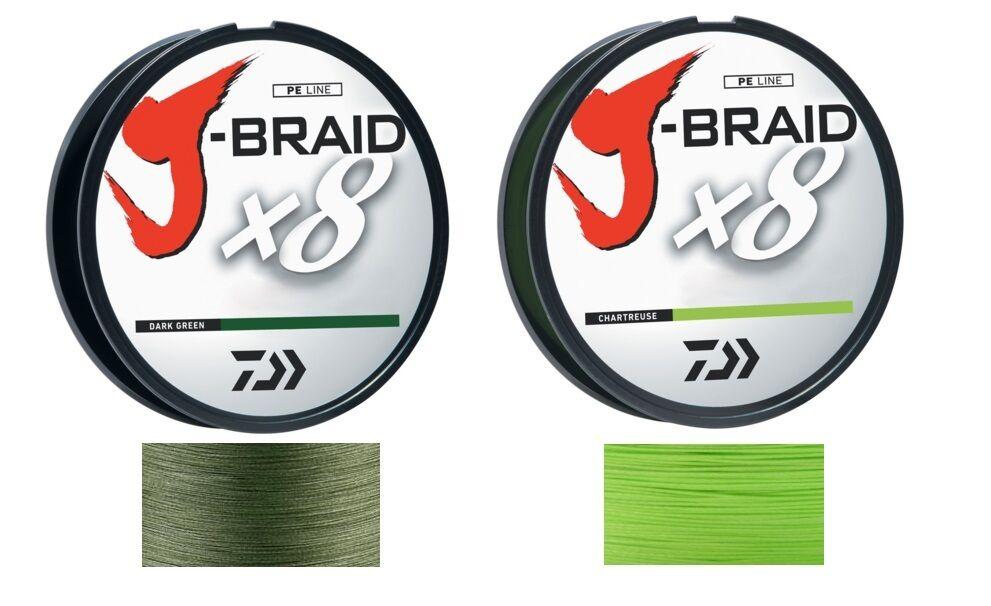 Daiwa J-braid X8 Filler Spool 150m Dark Green 40 Lb Test for sale online