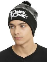 My Chemical Romance Black Parade Pom Watchman Beanie Knit Hat