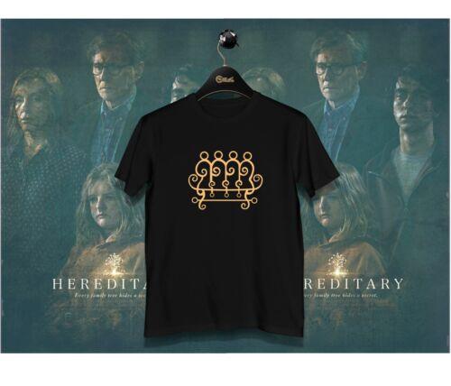Hereditary KIng Paimon  Occult Satanic Symbol Cult Horror Movie T-shirt