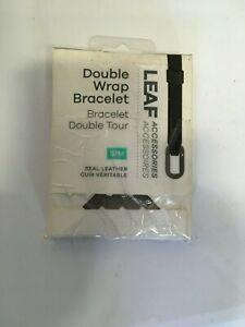 Bellabeat-Leaf-Nature-Double-Wrap-hypoallergenic-Leather-Bracelet-BLACK