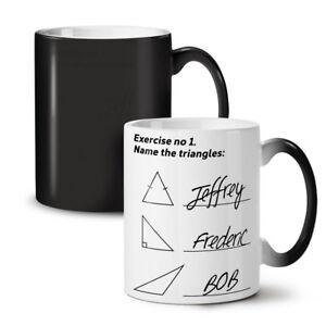 Tiriangles Math NEW Colour Changing Tea Coffee Mug 11 oz | Wellcoda