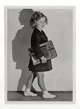 Shirley Temple 1937 Union Dresden Film Star Series 15 5X7 Cigarette Photo Card