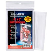 1 Pack 100 Ultra Pro 4 X 6 Photo Or Postcard Storage Sleeves Holders