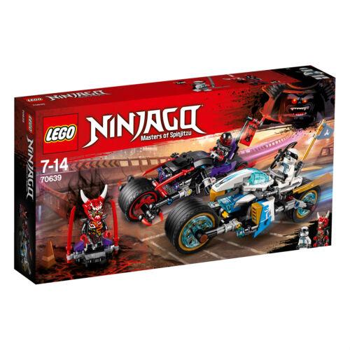 THE LEGO® NINJAGO Straßenrennen des Schlangenjaguars 70639 N1//18