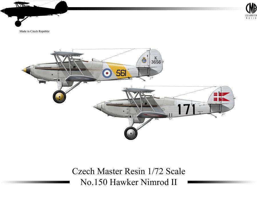 Czech Czech Czech Master Resina 1 72 Hawker Nimrod II c36c02