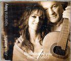 VALENTINA MEY JOSE' ALTAFINI - BECAUSE OF YOU - CD SINGOLO NUOVO SIGILLATO RARO