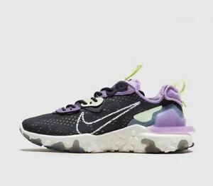 Nike-reagire-VISION-gravita-Viola-Volt-Uomo-STOCK-LIMITATA-TUTTE-LE-TAGLIE