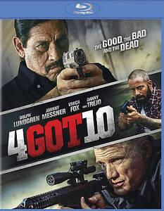 4Got10-Blu-ray-Disc-2015-Dolph-Lundgren-Johnny-Messner-Vivica-A-Fox