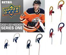2021/22 Upper Deck Series 1 Hockey 24 Pack Retail Box PRESEL+ FREE NHL EAR BUDS
