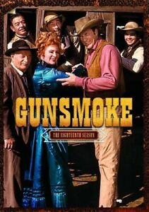 GUNSMOKE TV SERIES COMPLETE EIGHTEENTH SEASON 18 New Sealed DVD