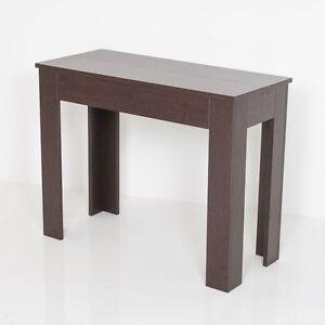 GROUP DESIGN consolle Magica bianco rovere marrone tavolo ...