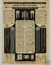 1941 PAPER AD Nutone Door Bell Chimes Mount Vernon Majestic 4 Notre Dame Long