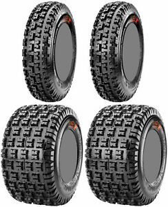 Four-4-Maxxis-Razr-XM-ATV-Tires-Set-2-Front-20x6-10-amp-2-Rear-18x10-8