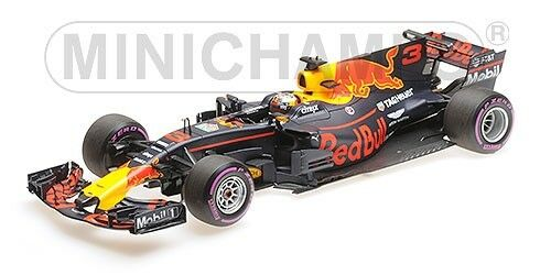 Rosso Bull Racing Rb13 Daniel Ricciardo Mexican Gp 2017 1:18 Model MINICHAMPS