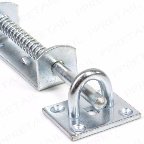 2x 210mm SPRING LOADED STABLE DROP BOLT Farm Gate Garage Field Door Drive Lock