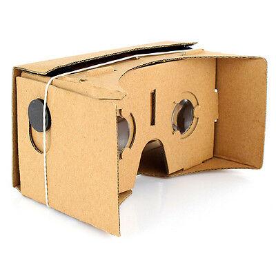 High Quality Google Cardboard 3D VR Virtual Reality Glasses Valencia 3D Viewing