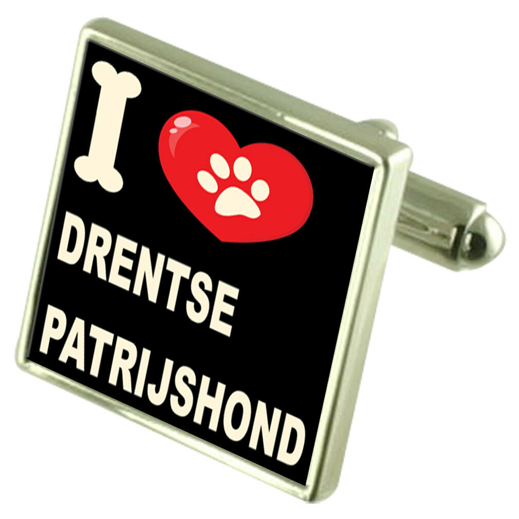 Amo il Mio Mio Mio Cane Tonalità argentoo Gemelli Drentse Patrijshond 36aecf