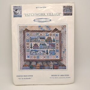 Linda Myers Patchwork Village Counted Cross Stitch Kit