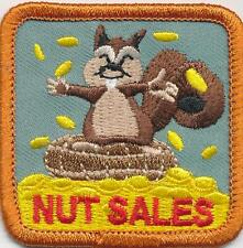 Girl Daisy NUT SALES squirrel Fun Patches Crests Badge SCOUT GUIDES fall product