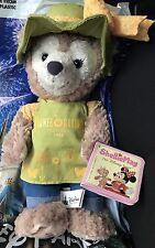 Disney EPCOT 2017 Flower & Garden Festival Shellie May Duffy The Bear Plush NWT