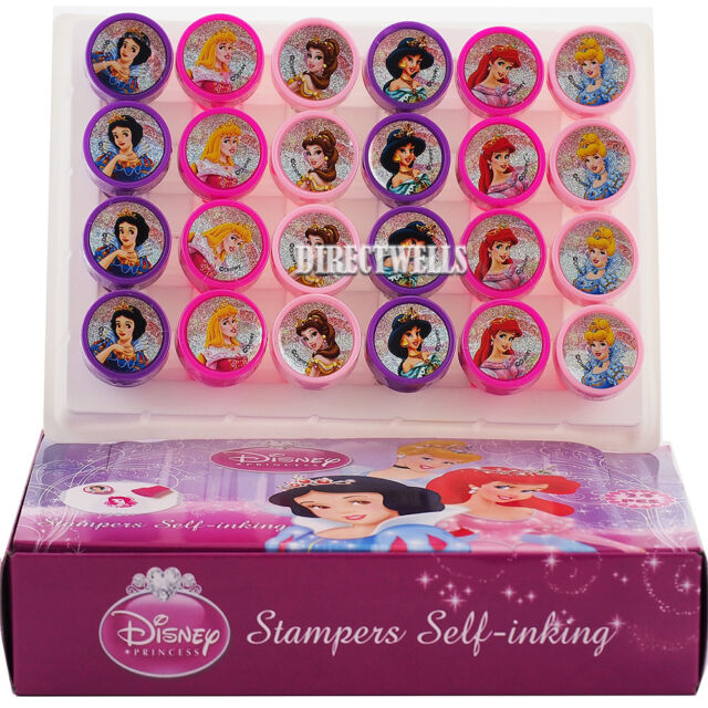 Sofia the First Stamps Stampers Self-inking Birthday Girl Party Favors 24ct
