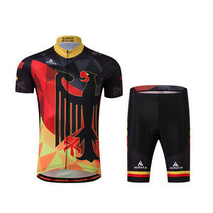Germany Team Bike Bicycle Cycling Clothing Men s Cycle Jersey (Bib ... 5f6d3757a